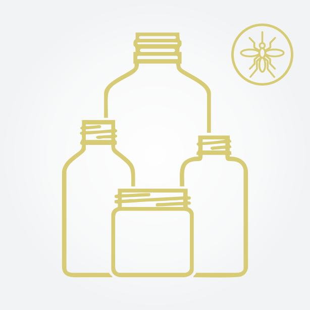 Kit Gel Repelente para mosquito